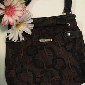 Rosetti brown crossbody purse